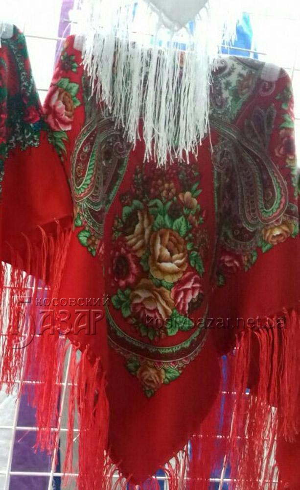 Хустка Жіноча. Одежа. Сувеніри карпатські на Косівському Базарі  5237 a8eff51fd5899